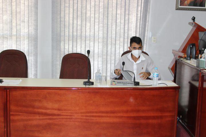 Vereador Leandro Nunes autor do projeto